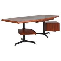 """No. 13 """"Model T96 Desk"""" by Osvaldo Borsani"""