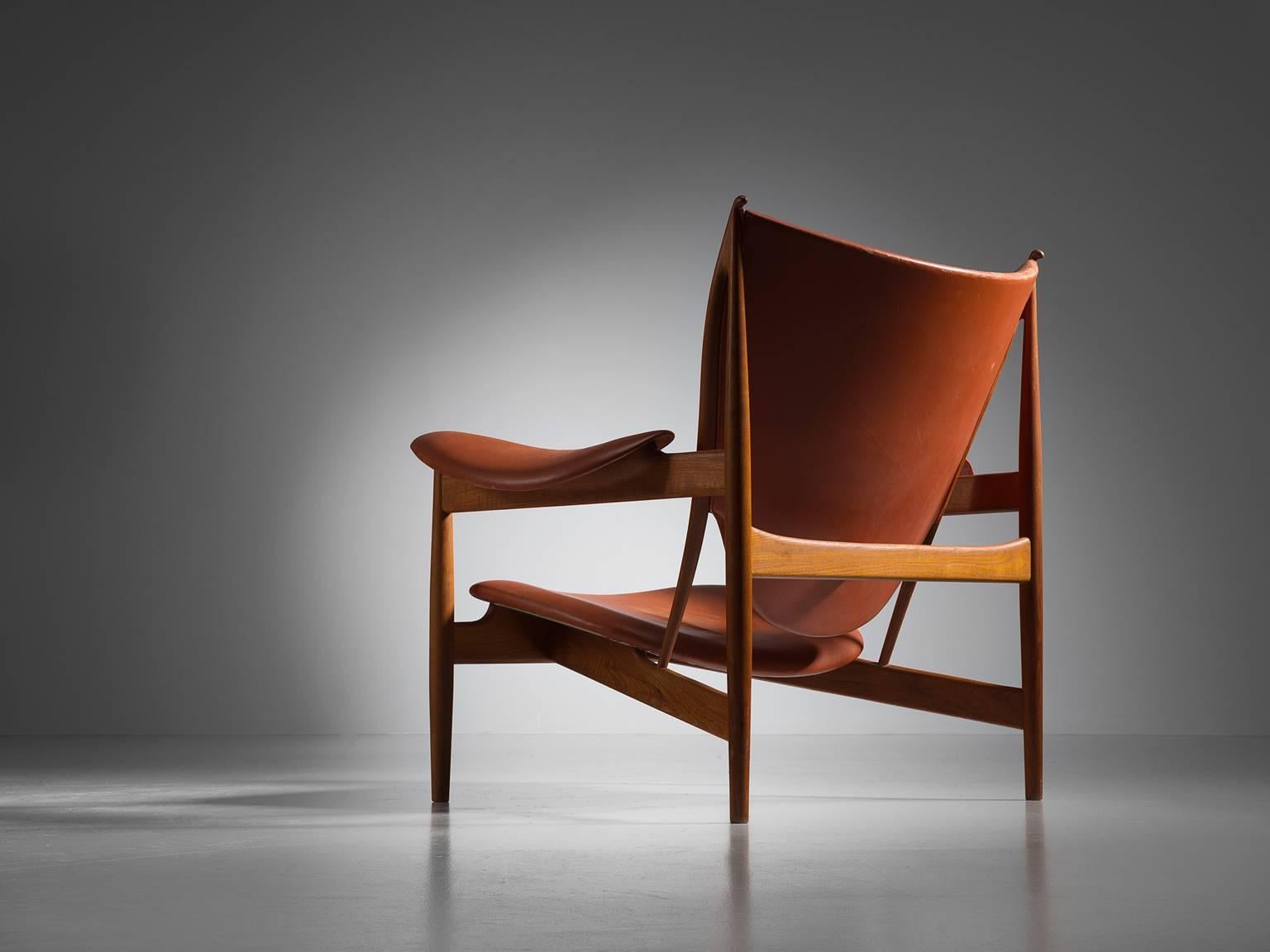 Beau Extremely Rare Finn Juhl U0027Chieftainu0027 Chair Owned By Niels Vodder, Teak And  Leather