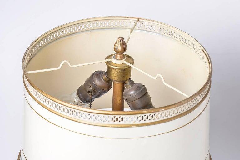 Art Nouveau American Bronze Vintage Table Lamp, 1920s  For Sale