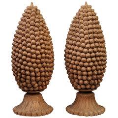 Sardinian Emilia Palomba Handmade Terracotta Little Snails:  Italian Sculptures