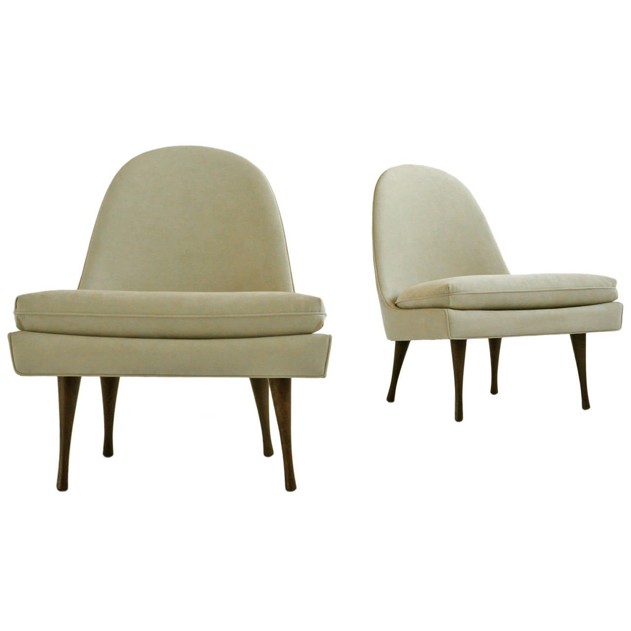 Paul McCobb Slipper Chairs for Widdi b at 1stdibs