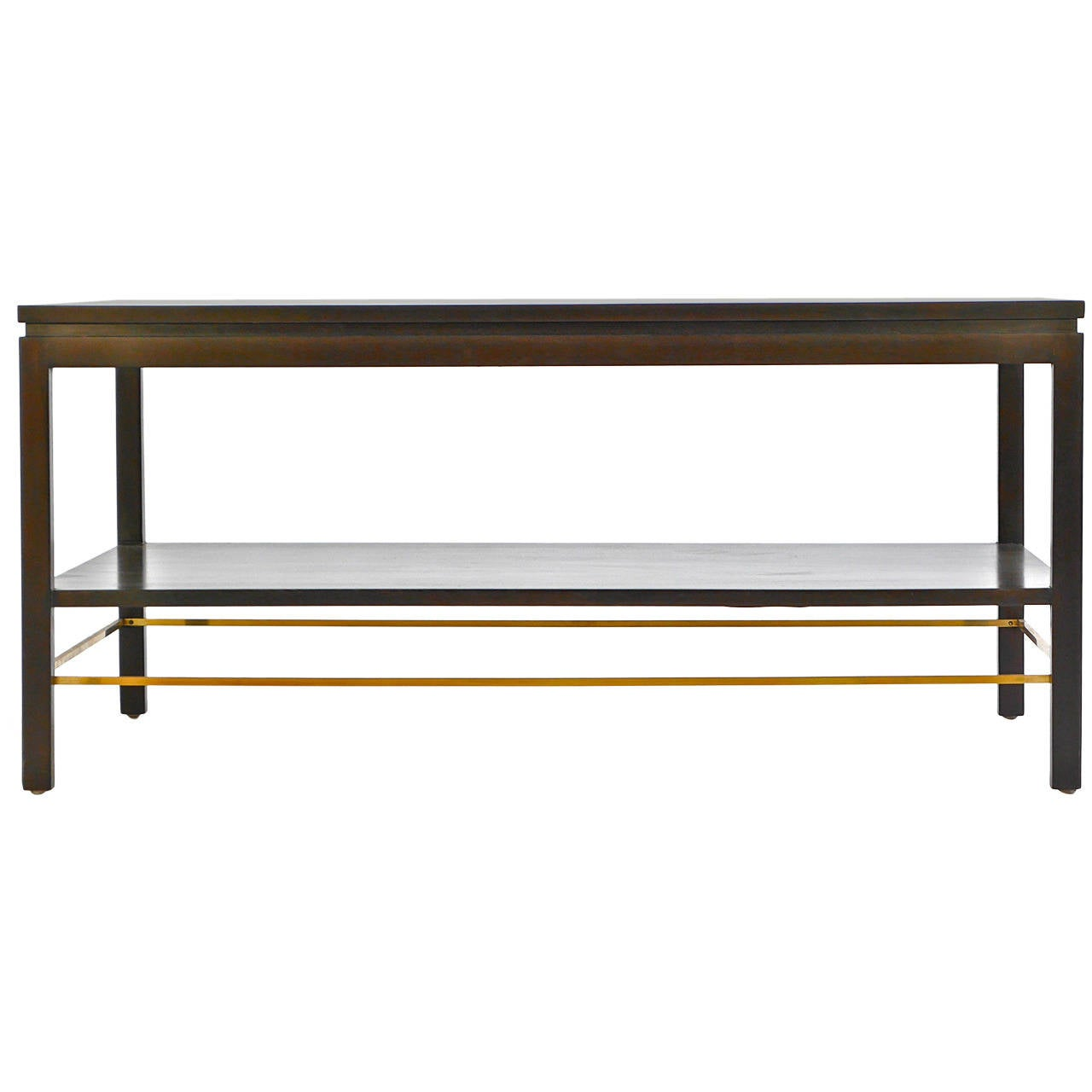 Custom order edward wormley low library table for sale at for Low sofa table