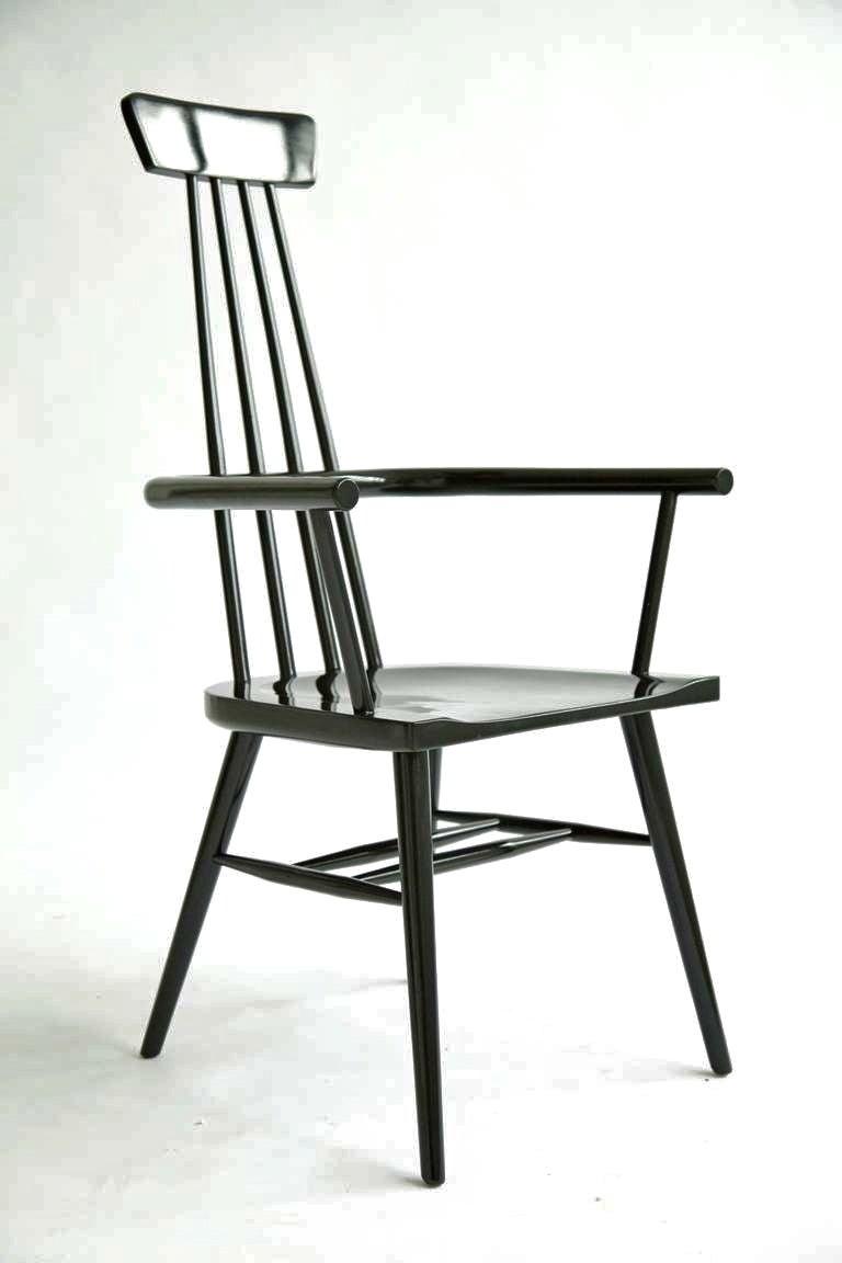 Paul McCobb High Back Windsor Chair at 1stdibs