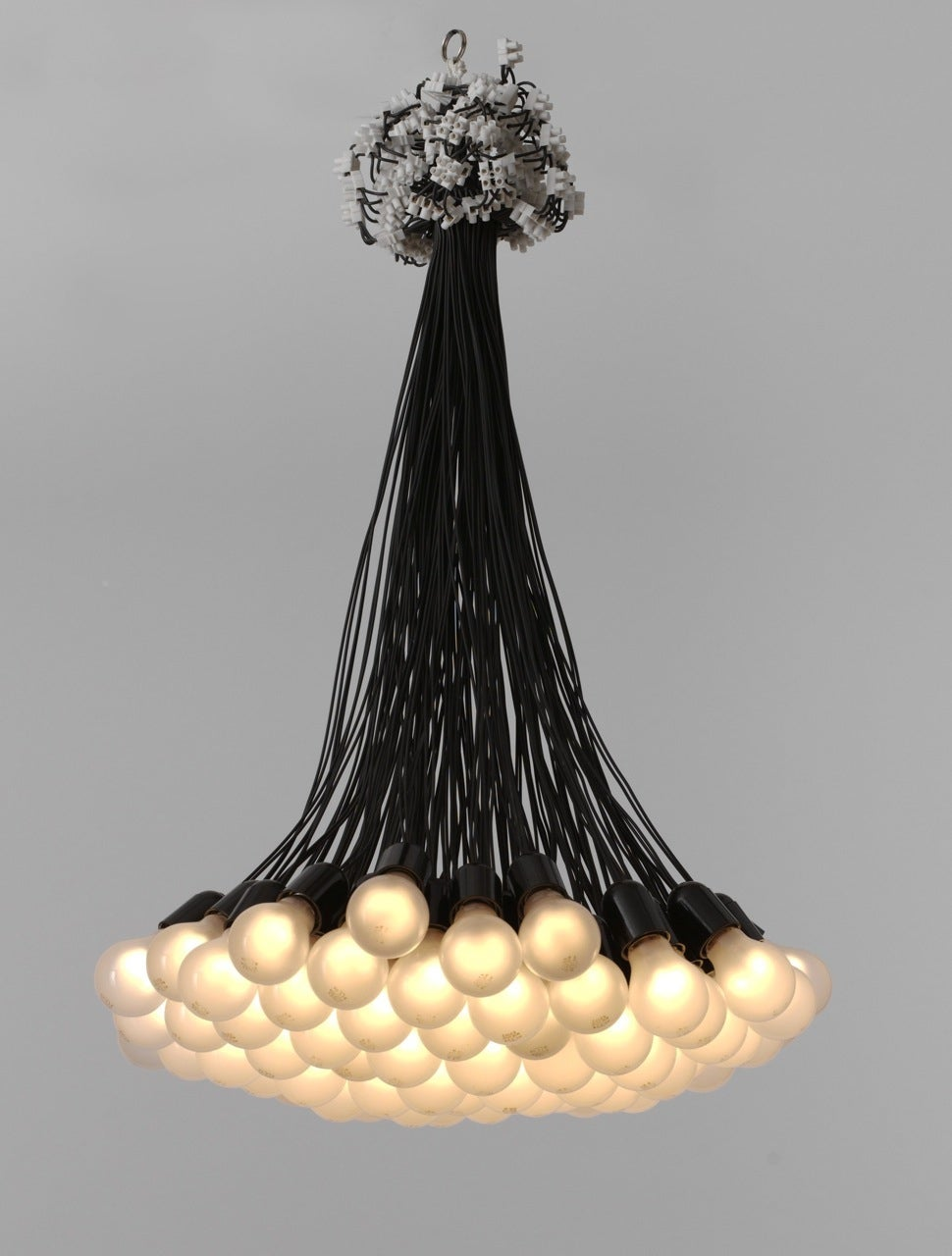 Rody graumans 85 lamps chandelier for droog design at 1stdibs rody graumans 85 lamps chandelier for droog aloadofball Choice Image
