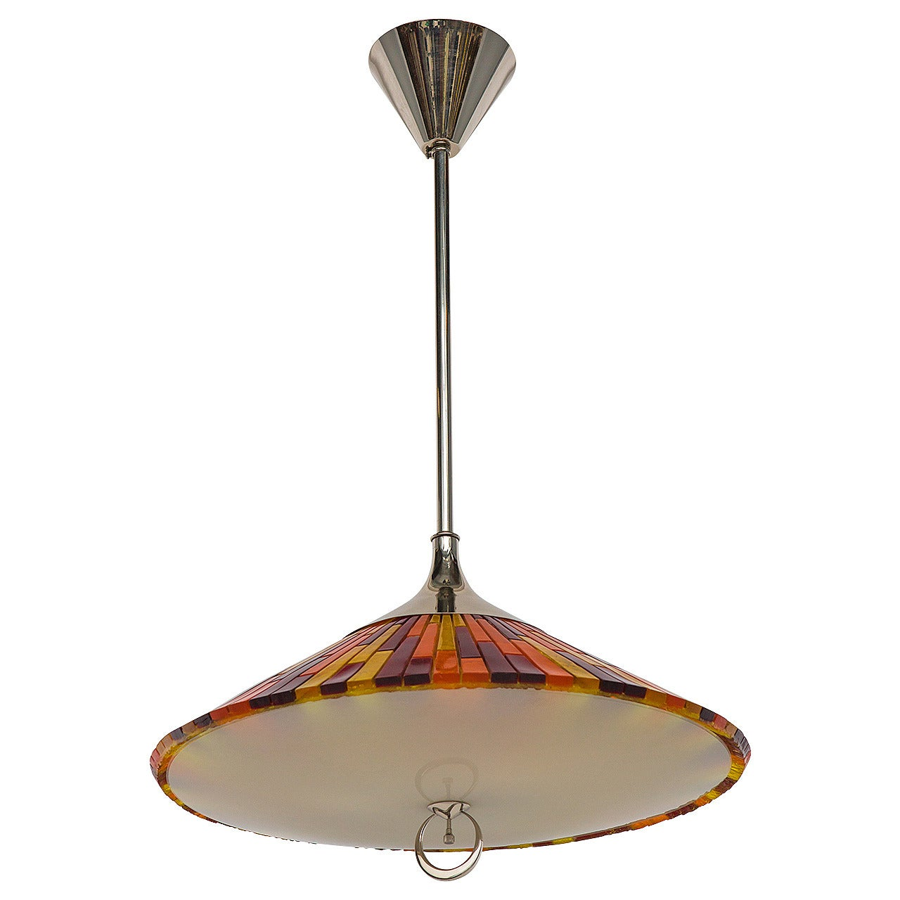 Italian Colorful Pendant Chandelier