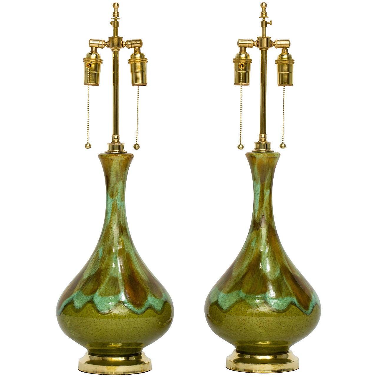 Midcentury Ceramic Lamps