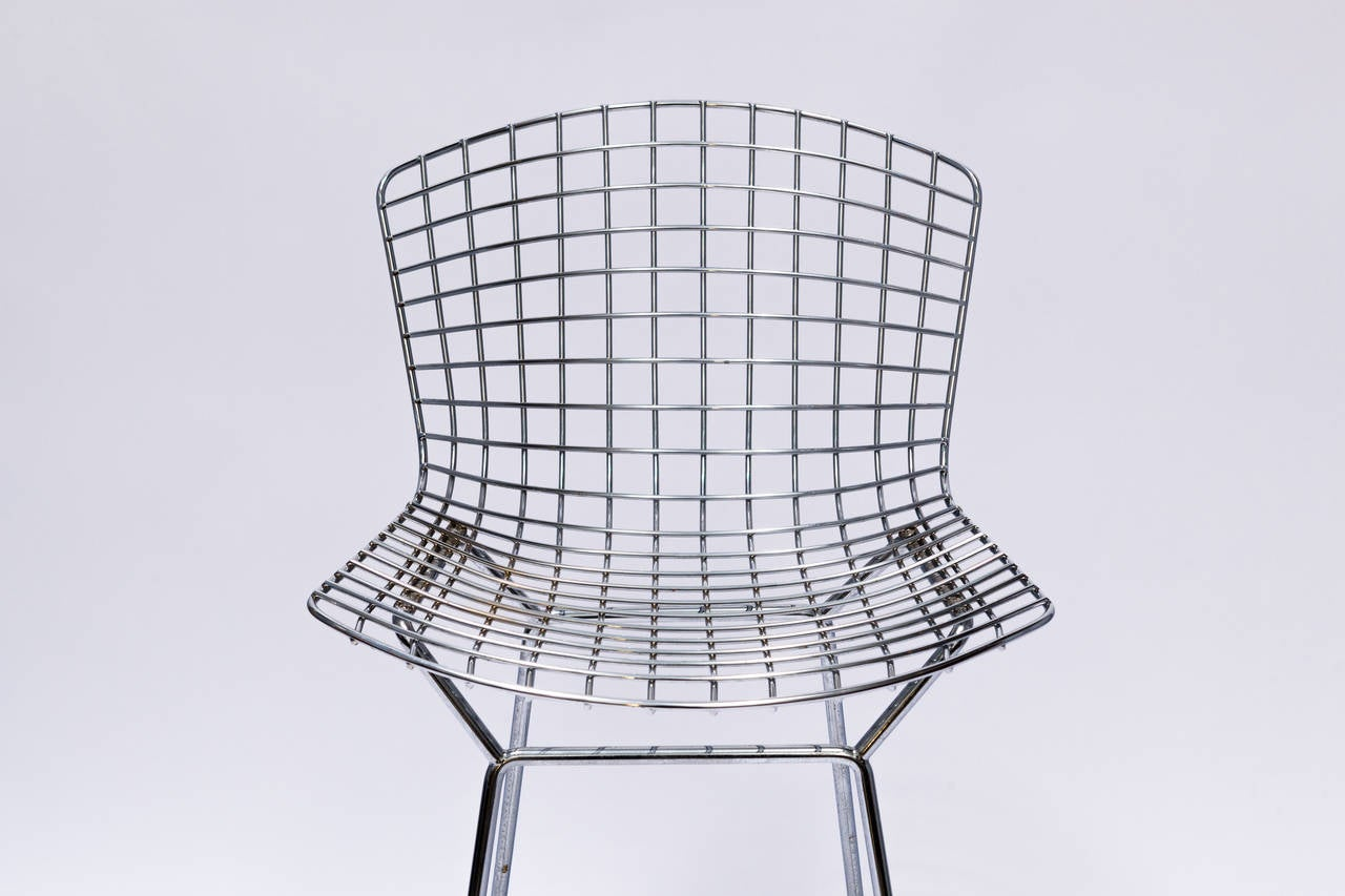 4knoll bertoia counter stools at 1stdibs - Bertoia wire counter stool ...