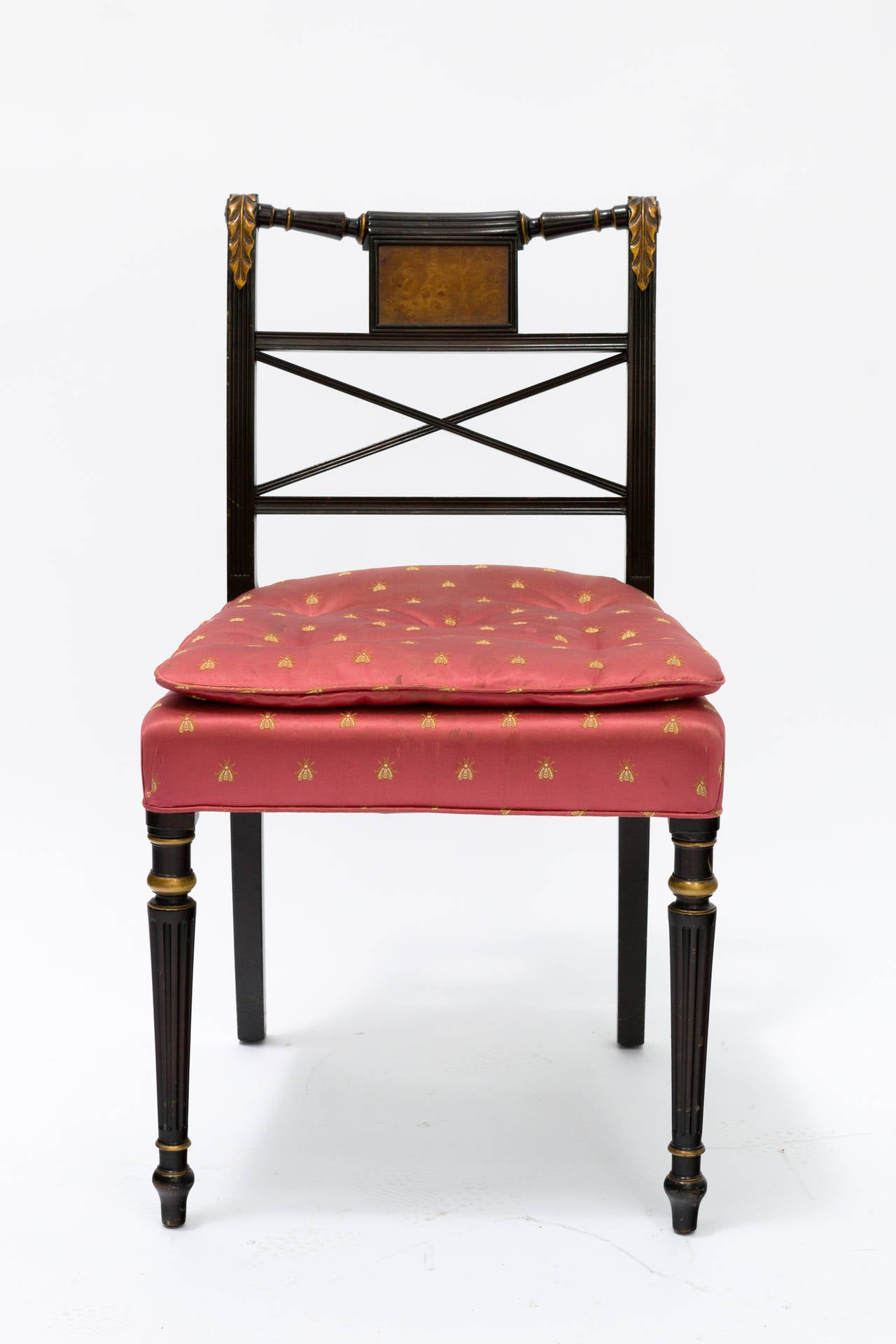 Regency Style Chairs ~ Painted regency style dining chairs at stdibs