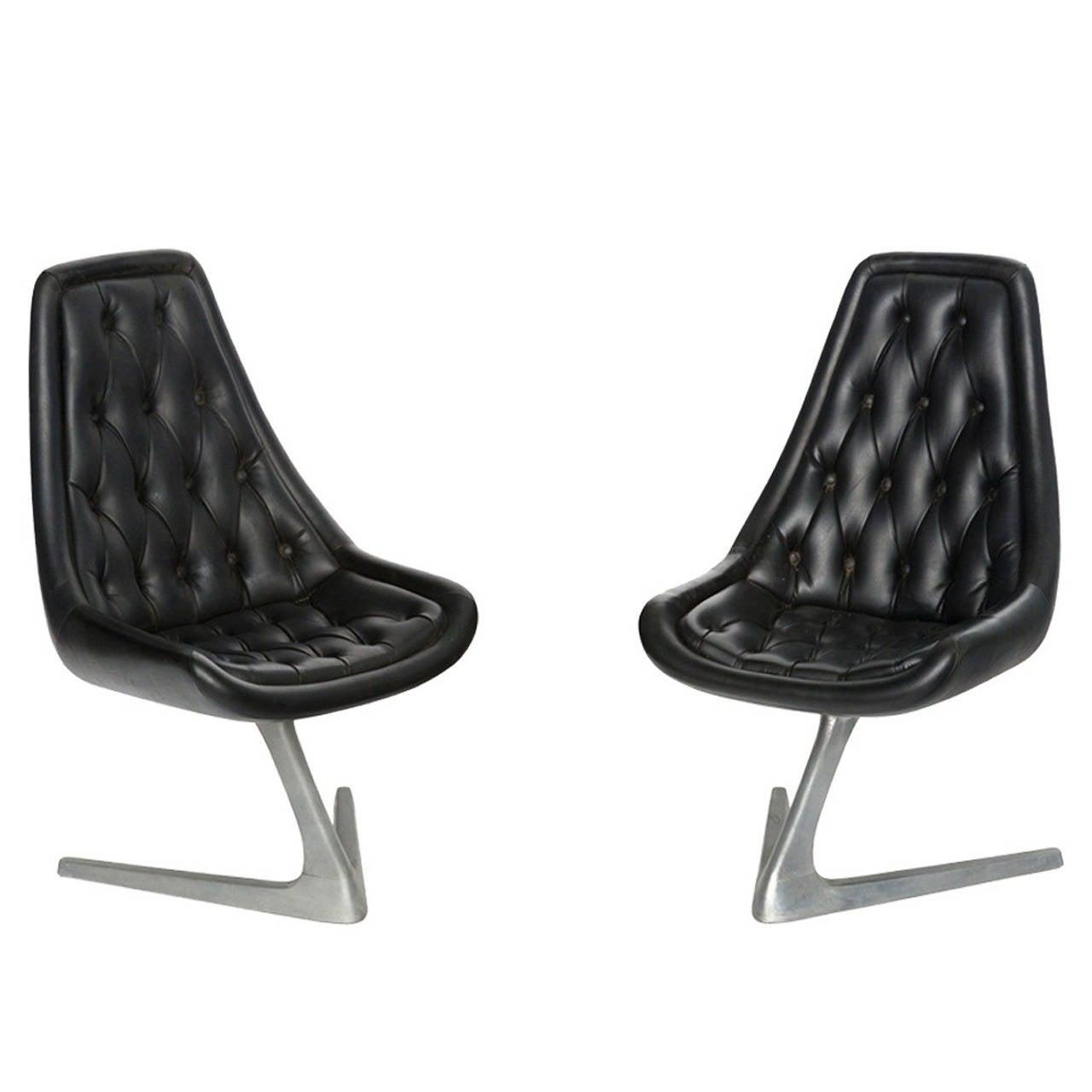 Chromcraft Sculpta Star Trek Chairs 2 Available At 1stdibs
