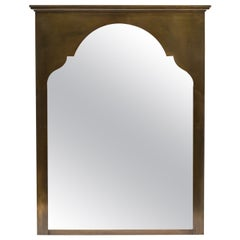 Large Brass Moroccan Style Wall Mirror