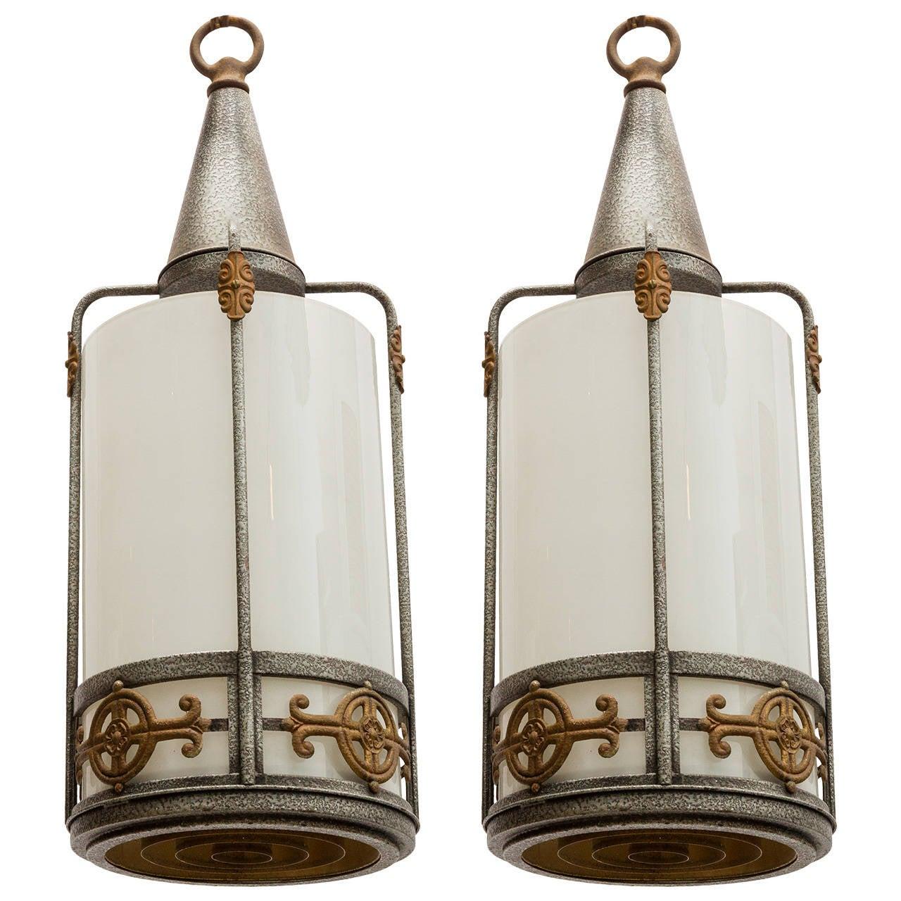 Pair of Church Lanterns
