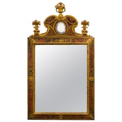 Napoleon III Ormolu Boulle Mirror