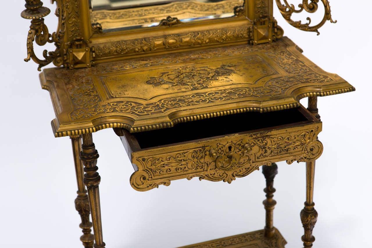 Victorian Iron Vanity At 1stdibs