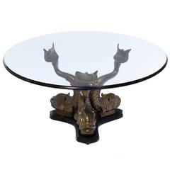 paul evans style metal base for sale at 1stdibs. Black Bedroom Furniture Sets. Home Design Ideas