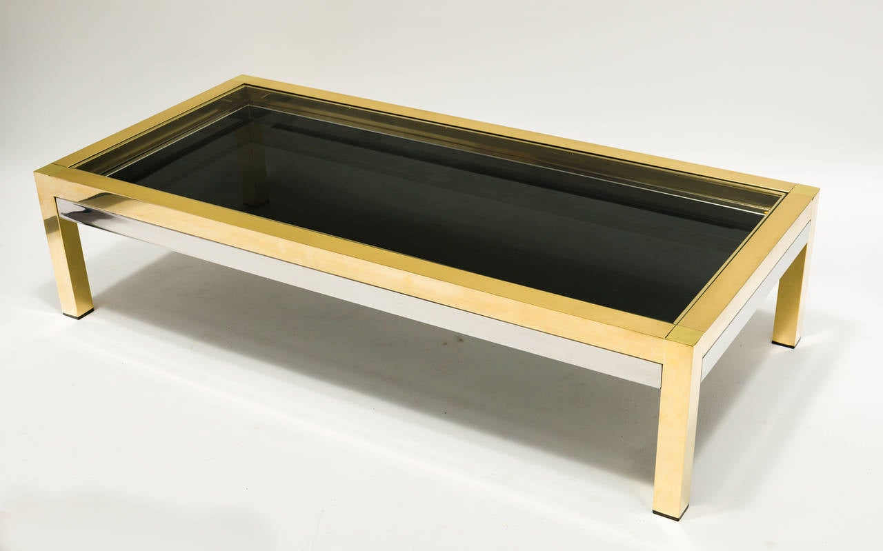 Extendable coffee table for sale at 1stdibs - Telescopic coffee table ...
