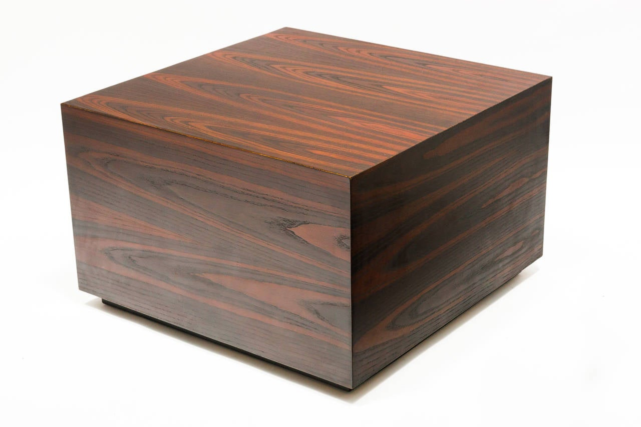 Harvey Probber Rosewood Cube Coffee Table For Sale At 1stdibs
