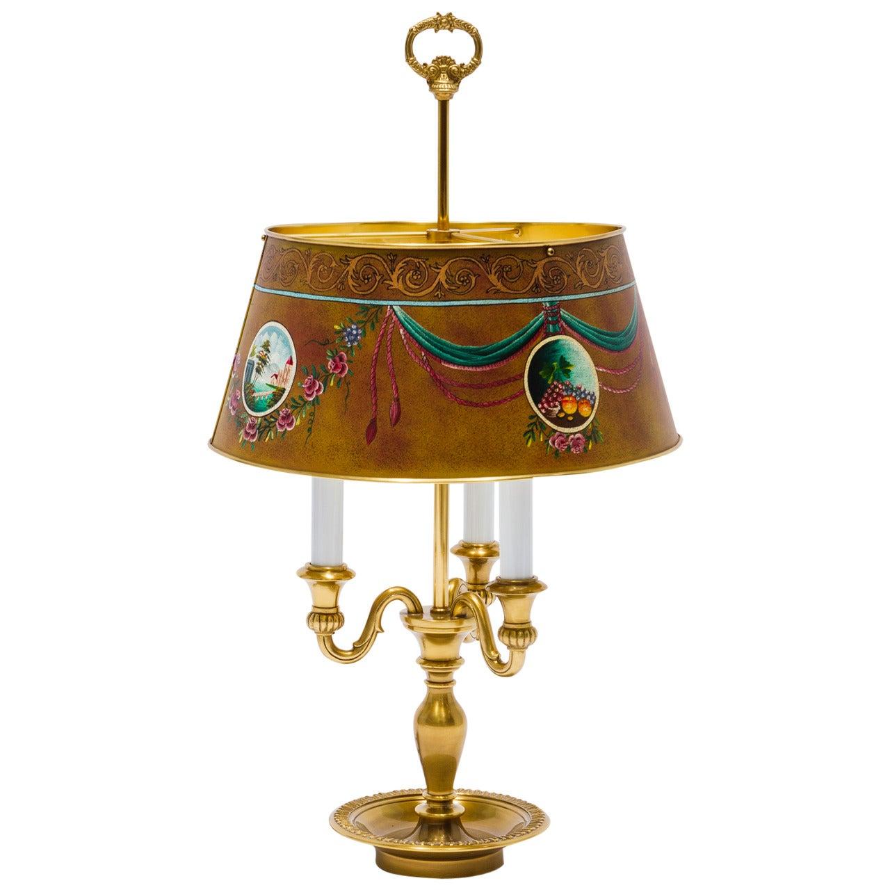 Leone Aliotti Tole Lamp