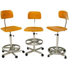 Jorgen Ramussen Tall Task Chairs for Kevi