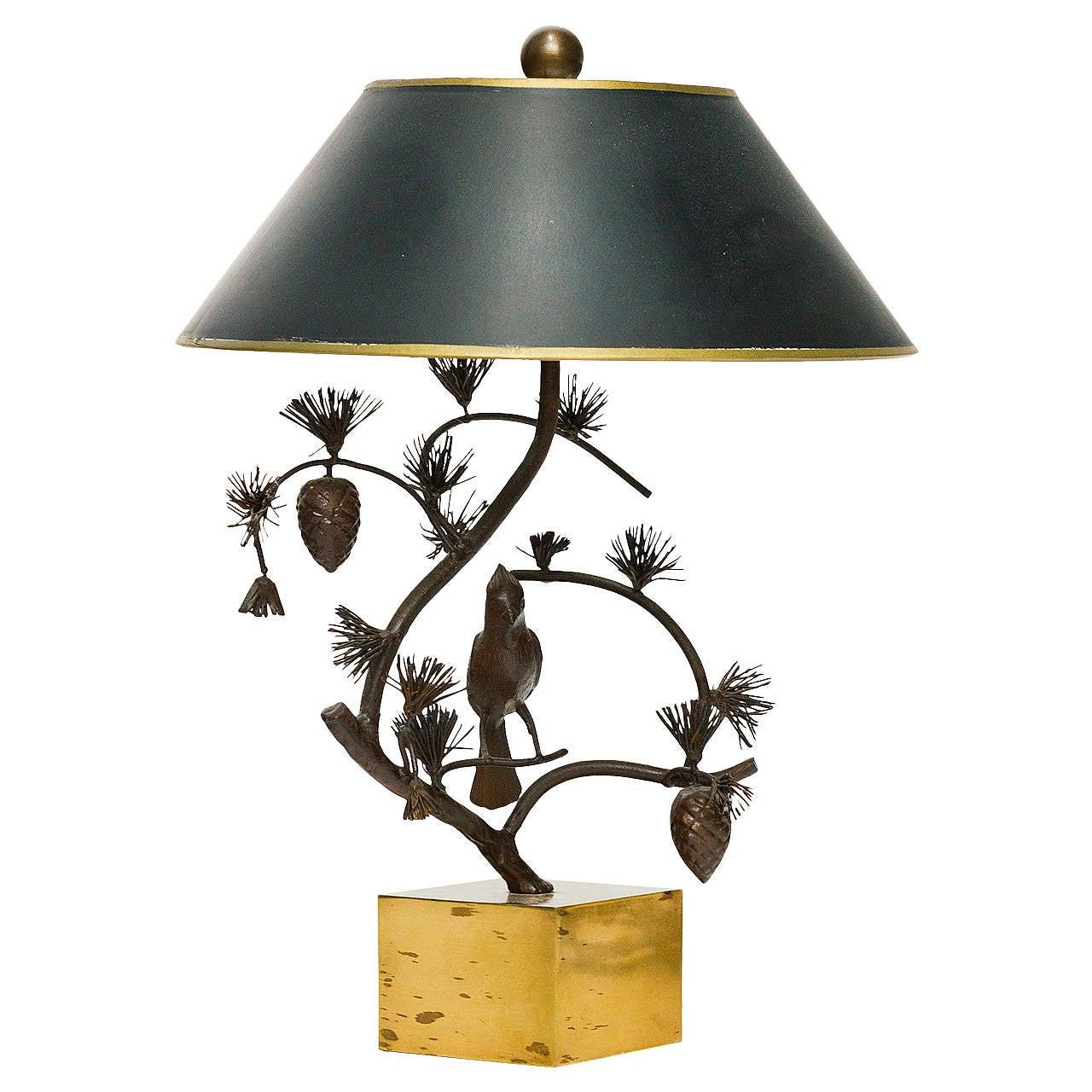 Chapman Bird Lamp at 1stdibs