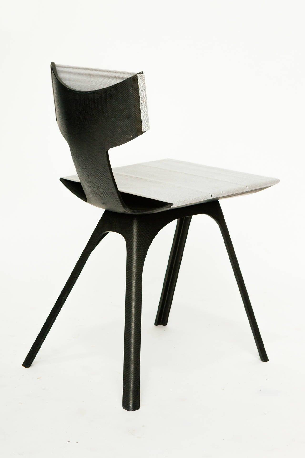 rare soft light chair by alberto meda for sale at 1stdibs. Black Bedroom Furniture Sets. Home Design Ideas