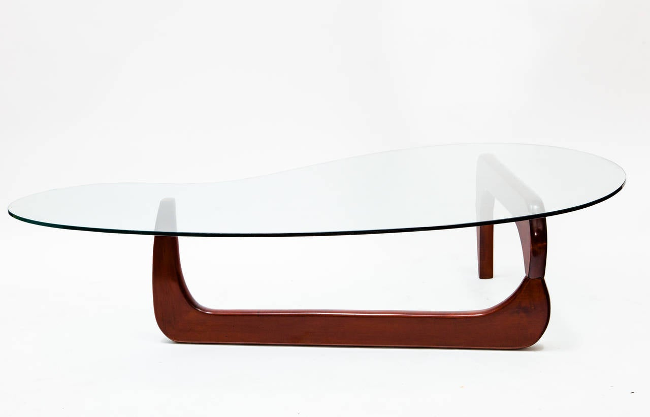 Noguchi style coffee table at 1stdibs for Noguchi coffee table