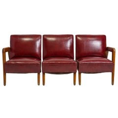 Three-Piece Midcentury Couch