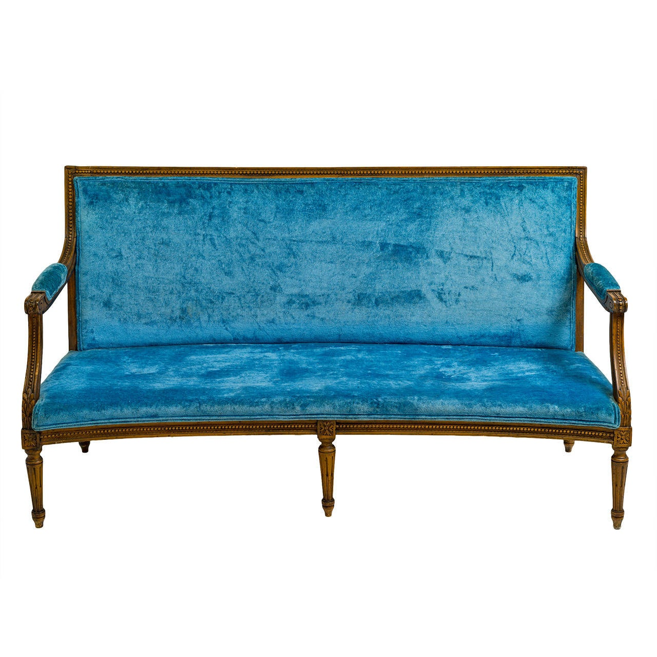 curved settee at 1stdibs