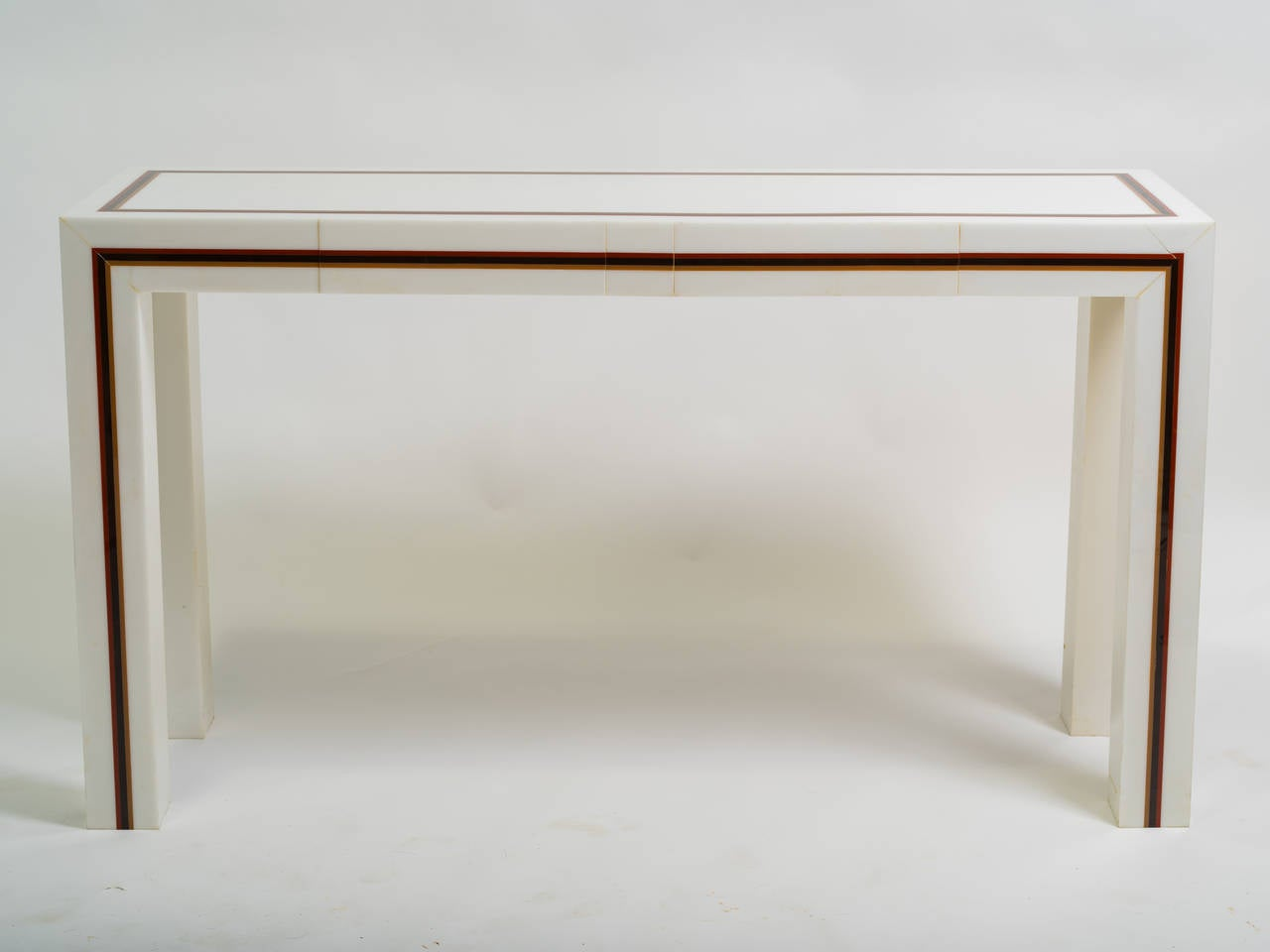 Custom made plastic console table for sale at 1stdibs custom made plastic console table 2 geotapseo Choice Image