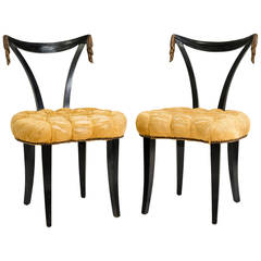 Pair of Occasional Chairs by Grosfeld House