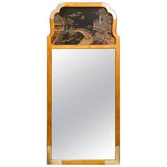 Asian Style Wall Mirror by La Barge