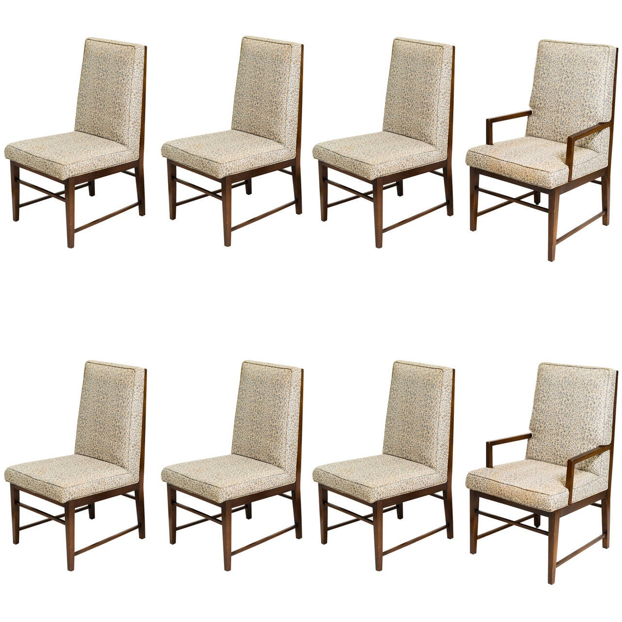 Eight Probber Style Dining Chairs