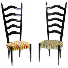 Pair of Chiavari High Back Chairs