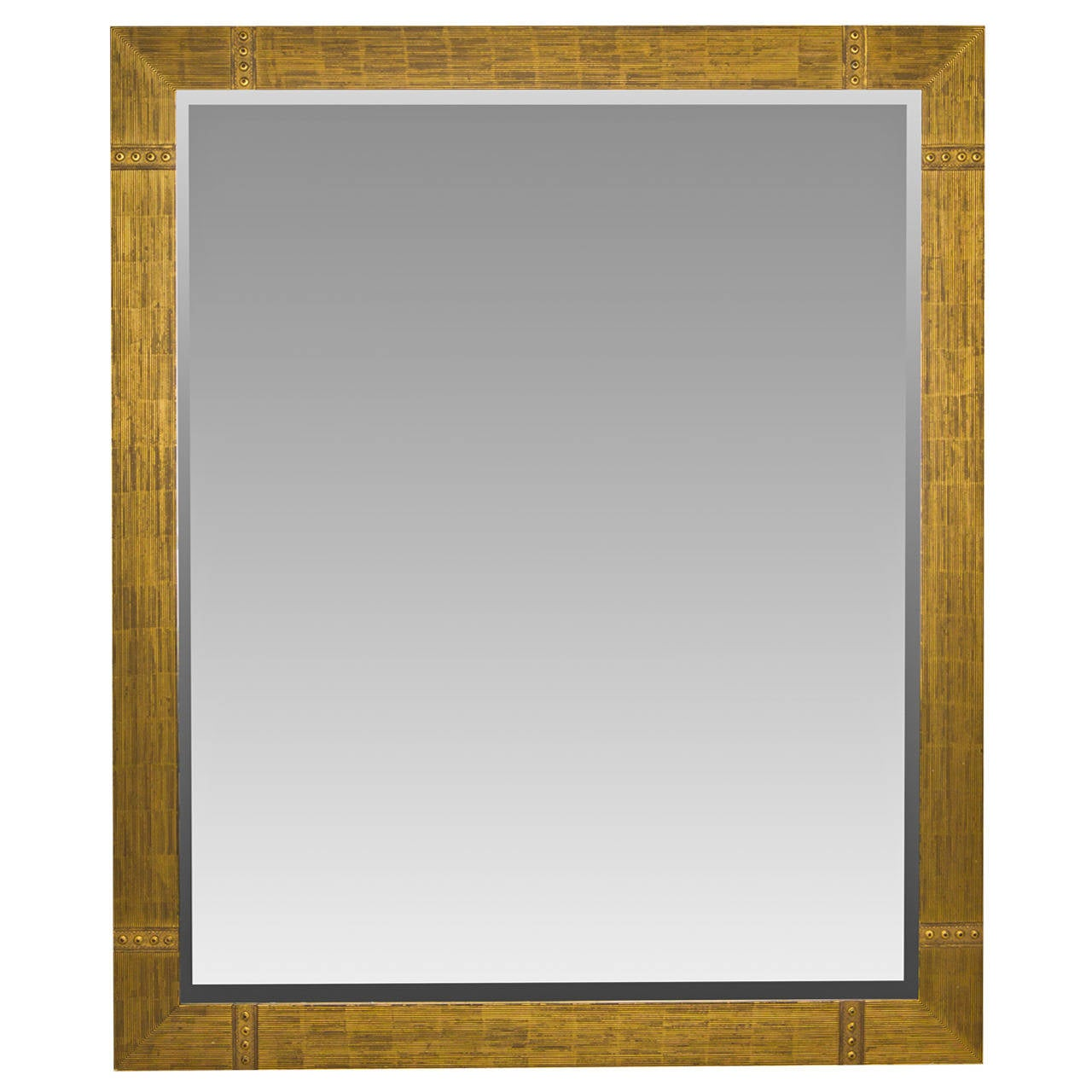 large custom made gilded beveled mirror 6 feet high at 1stdibs
