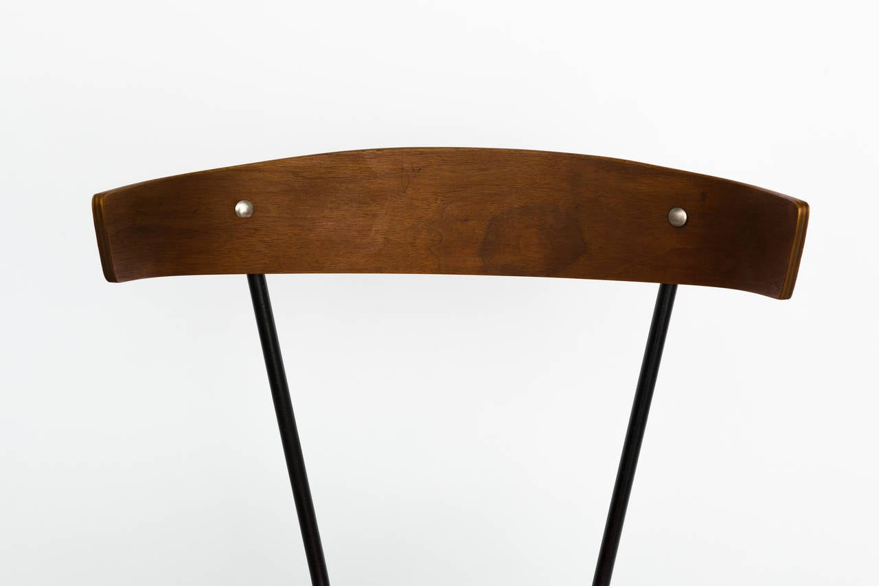 mid century modern desk chair by clifford pascoe at 1stdibs