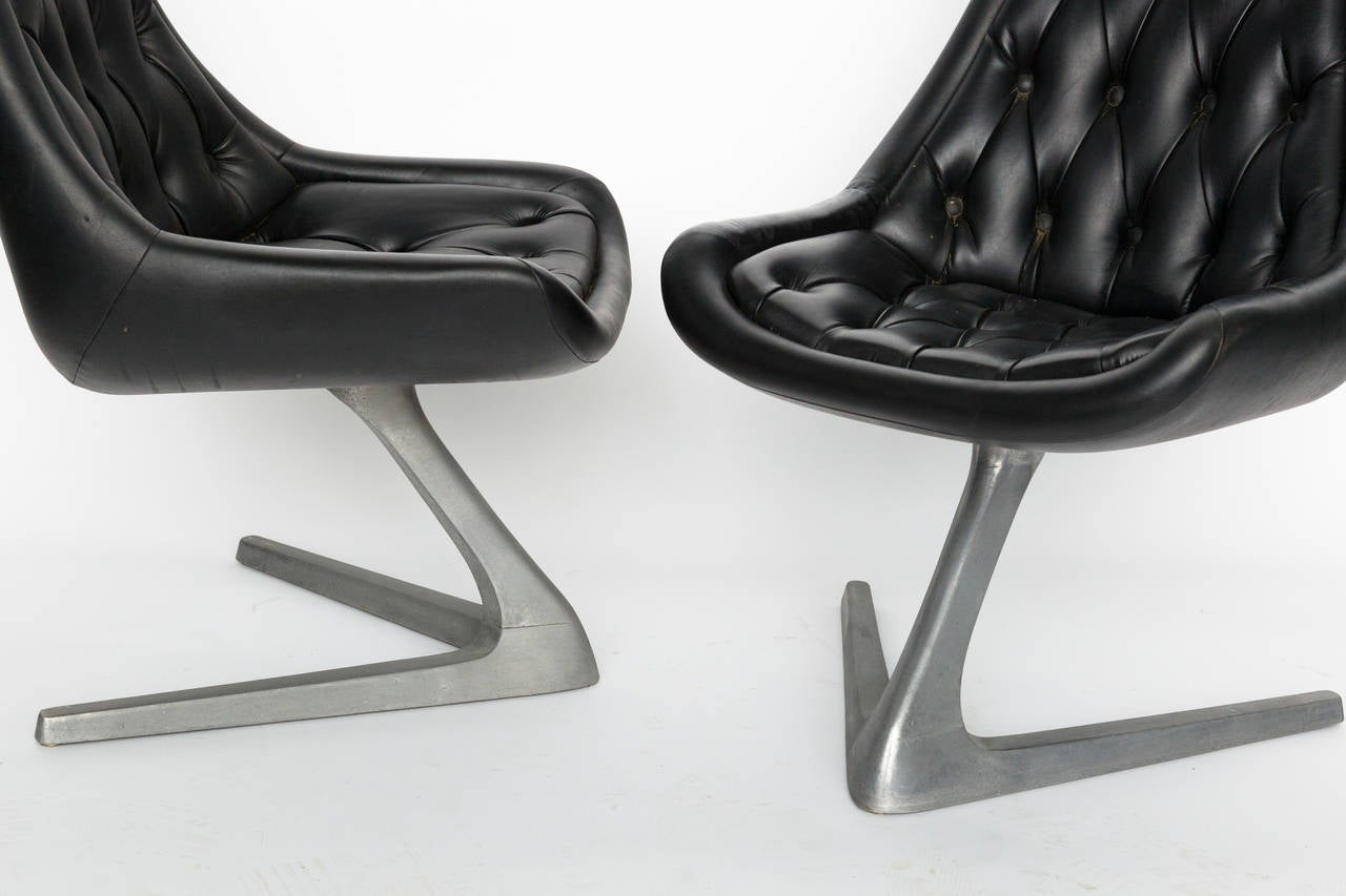 Chromcraft Sculpta Star Trek Chairs 2 Available At 1stdibs
