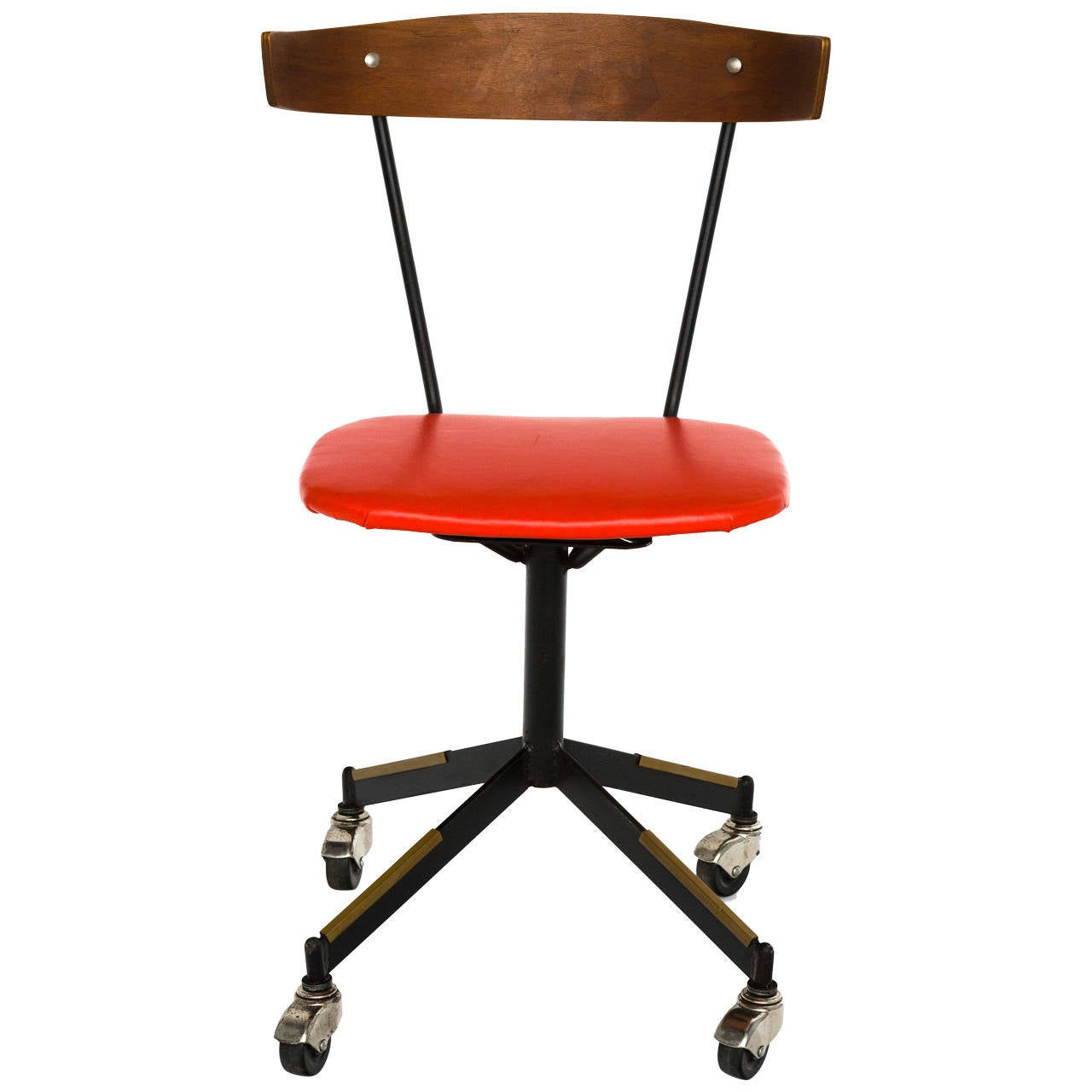 Mid Century Modern Desk Chair By Clifford Pascoe 1