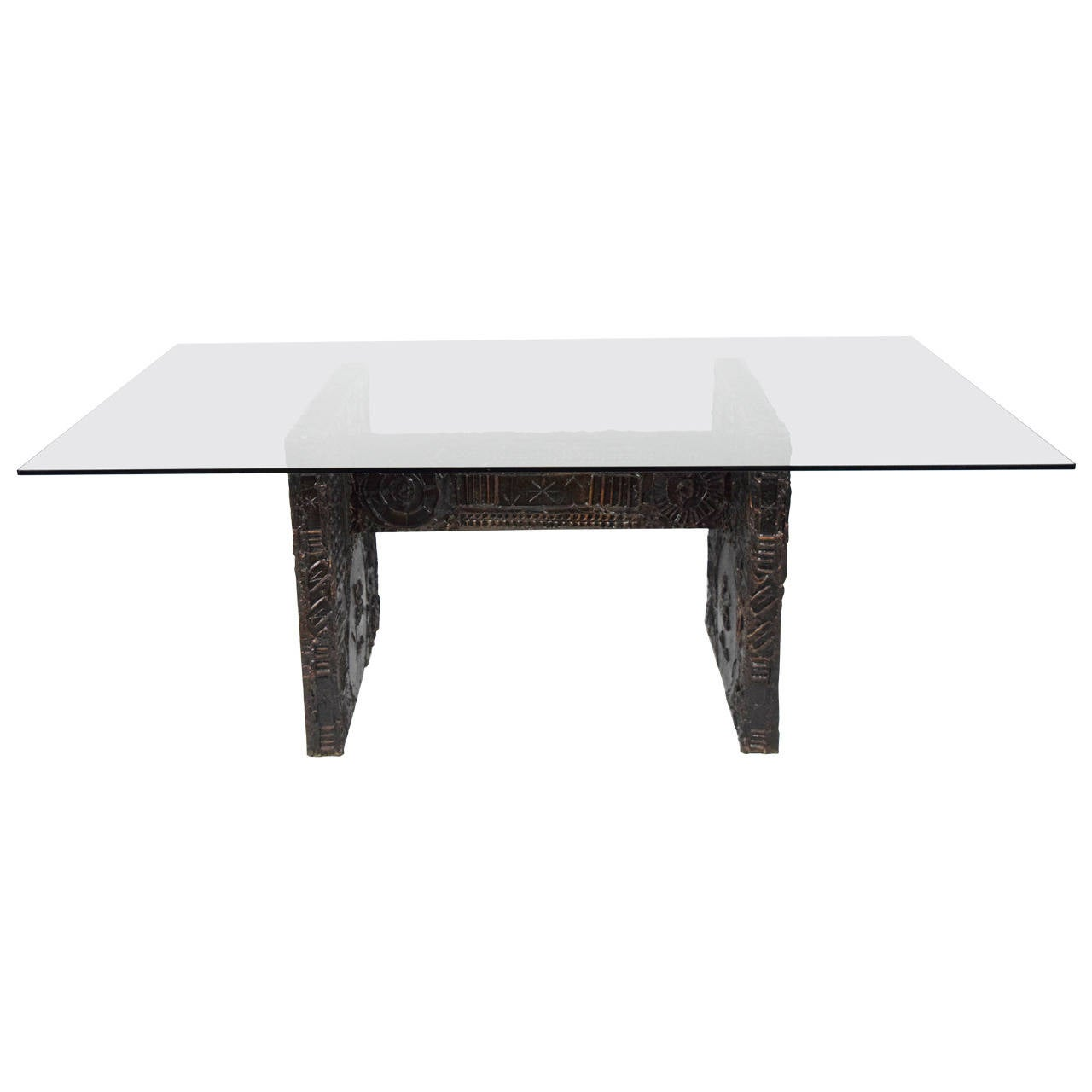 Adrian pearsall brutalist dining table in the style of paul evans adrian pearsall brutalist dining table in the style of paul evans 1 geotapseo Choice Image
