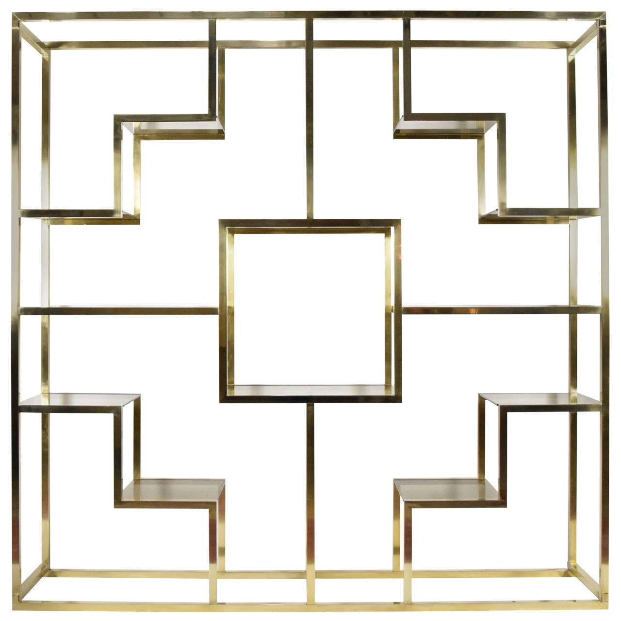 romeo rega brass and smoked glass tag re at 1stdibs. Black Bedroom Furniture Sets. Home Design Ideas