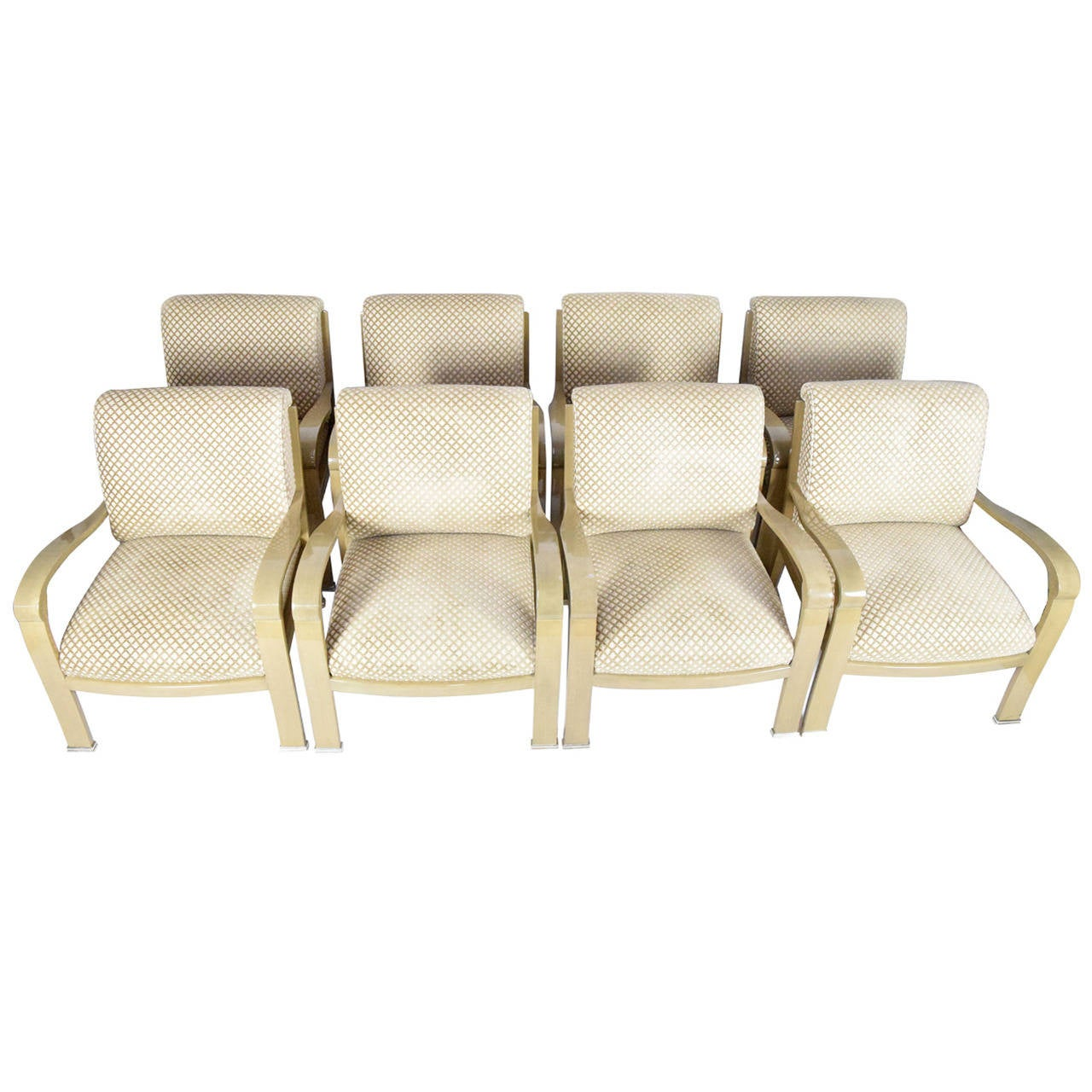 J. Robert Scott Salon Deco Lounge Chairs By Sally Sirkin