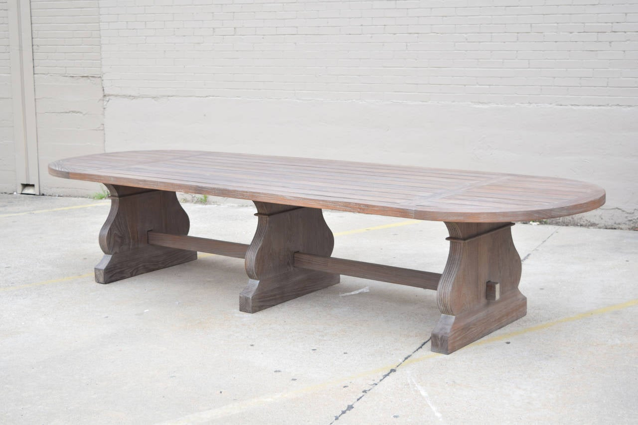 Custom Indoor Or Outdoor Dining Table By Sutherland At 1stdibs