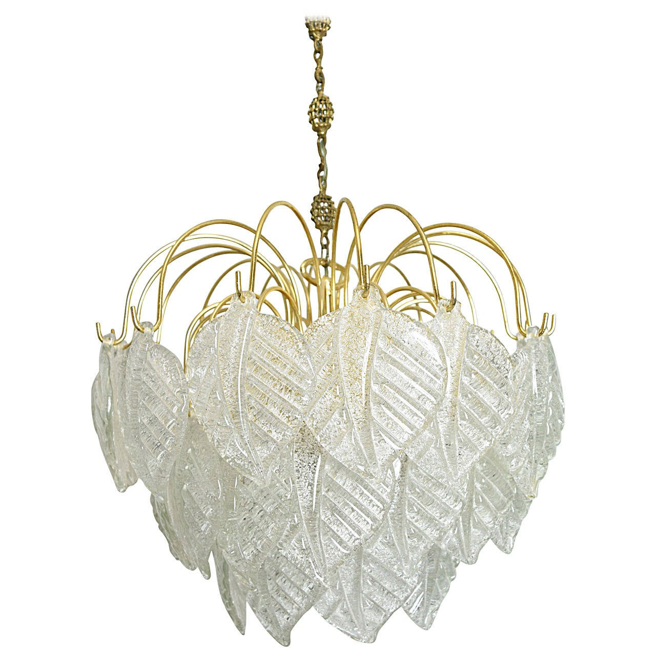 Barovier and toso murano glass chandelier at 1stdibs for Barovier e toso