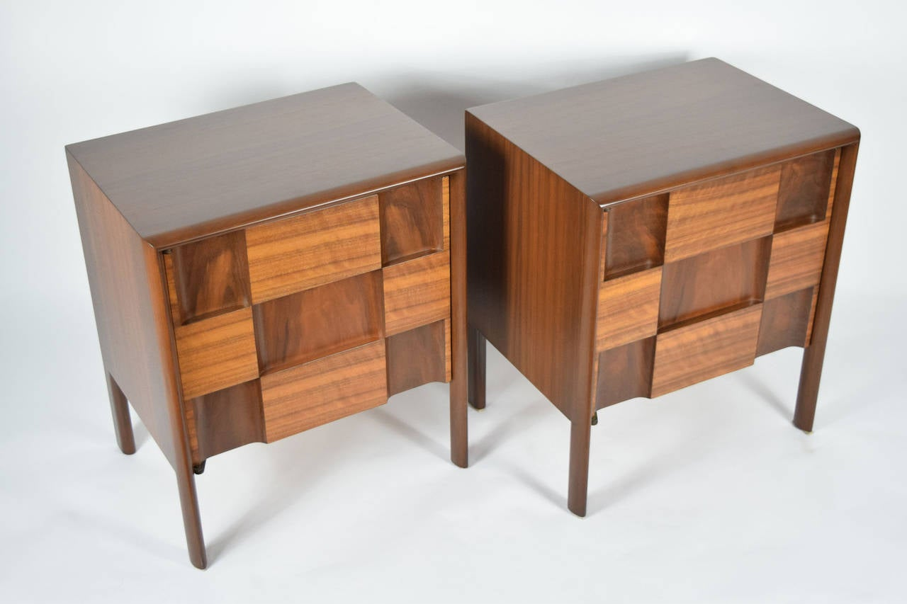 Swedish Edmond Spence Nightstands Made in Sweden For Sale