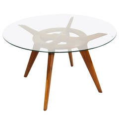 Adrian Pearsall Circular Dining Table