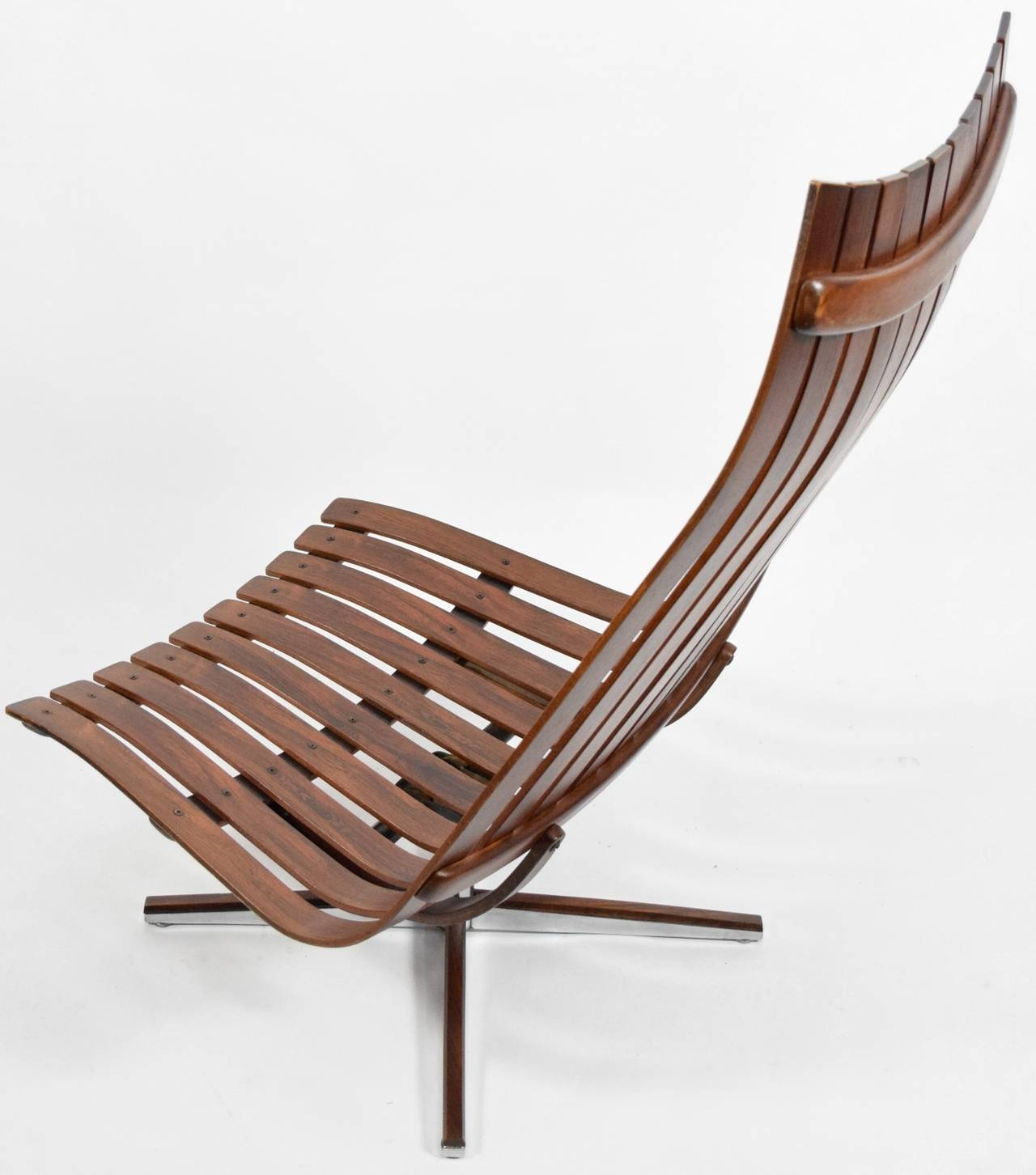Hans brattrud scandia swivel lounge chair for hove for Furniture hove