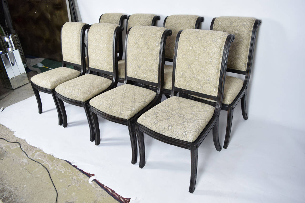 Fremarc Embassy Dining Chairs, Set Of Eight 2