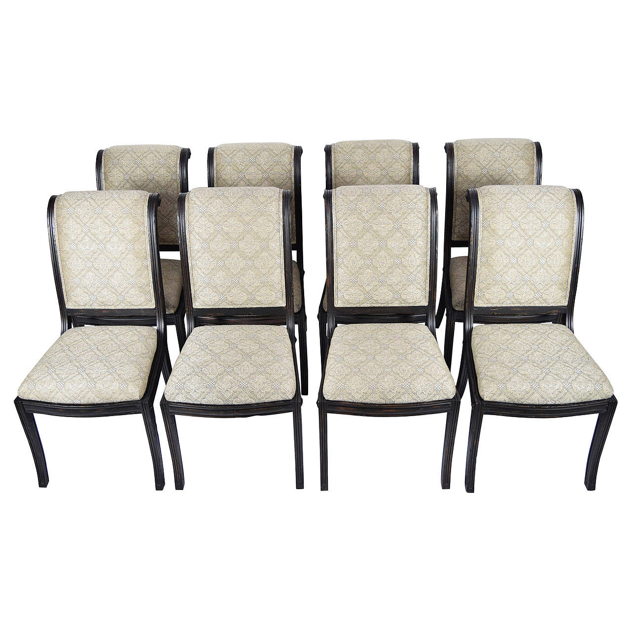 Fremarc Embassy Dining Chairs, Set of Eight