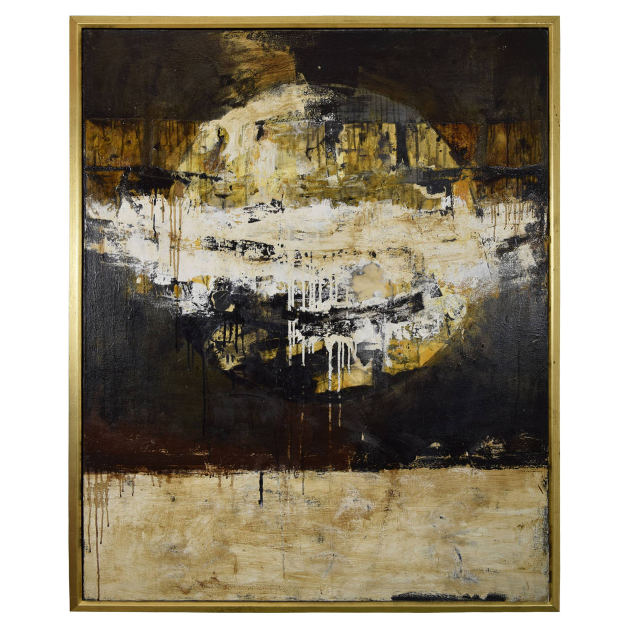 """Paul Manes Original Oil on Canvas, """"Sousoucie"""""""