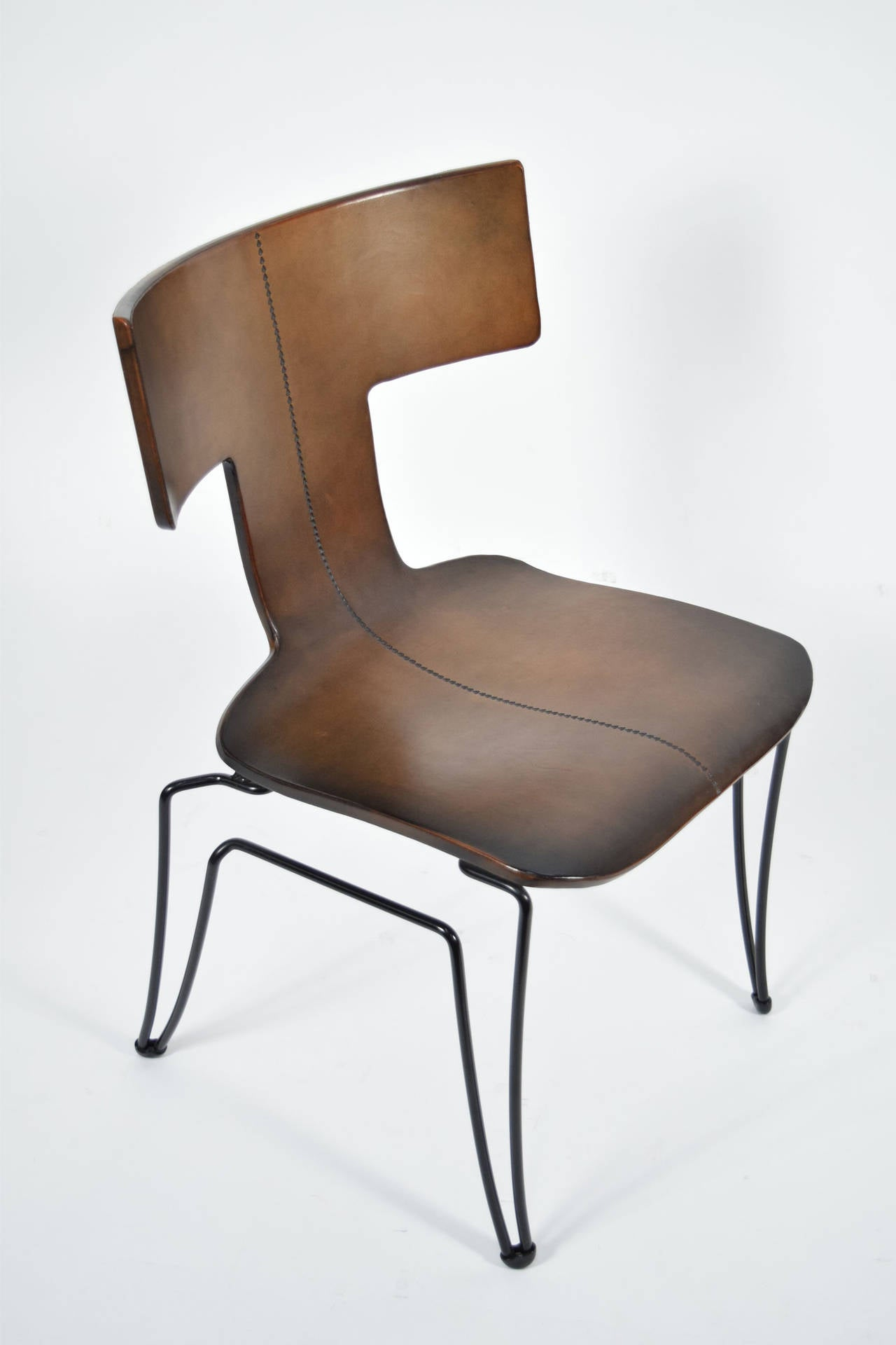 Ser Of Four Early Edition Anziano Chairs By John Hutton
