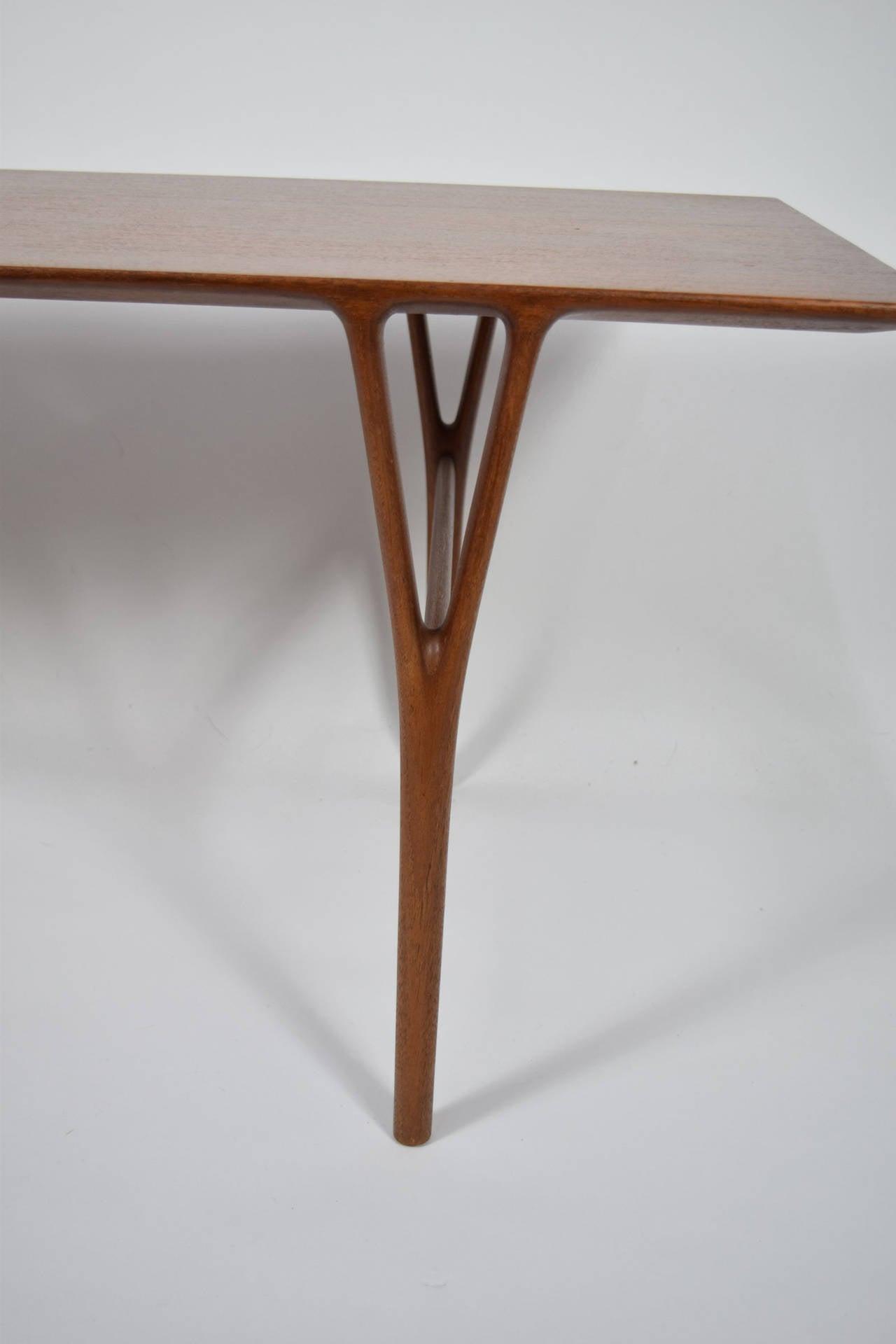 Danish Coffee Table by Helge Vestergaard-Jensen For Sale
