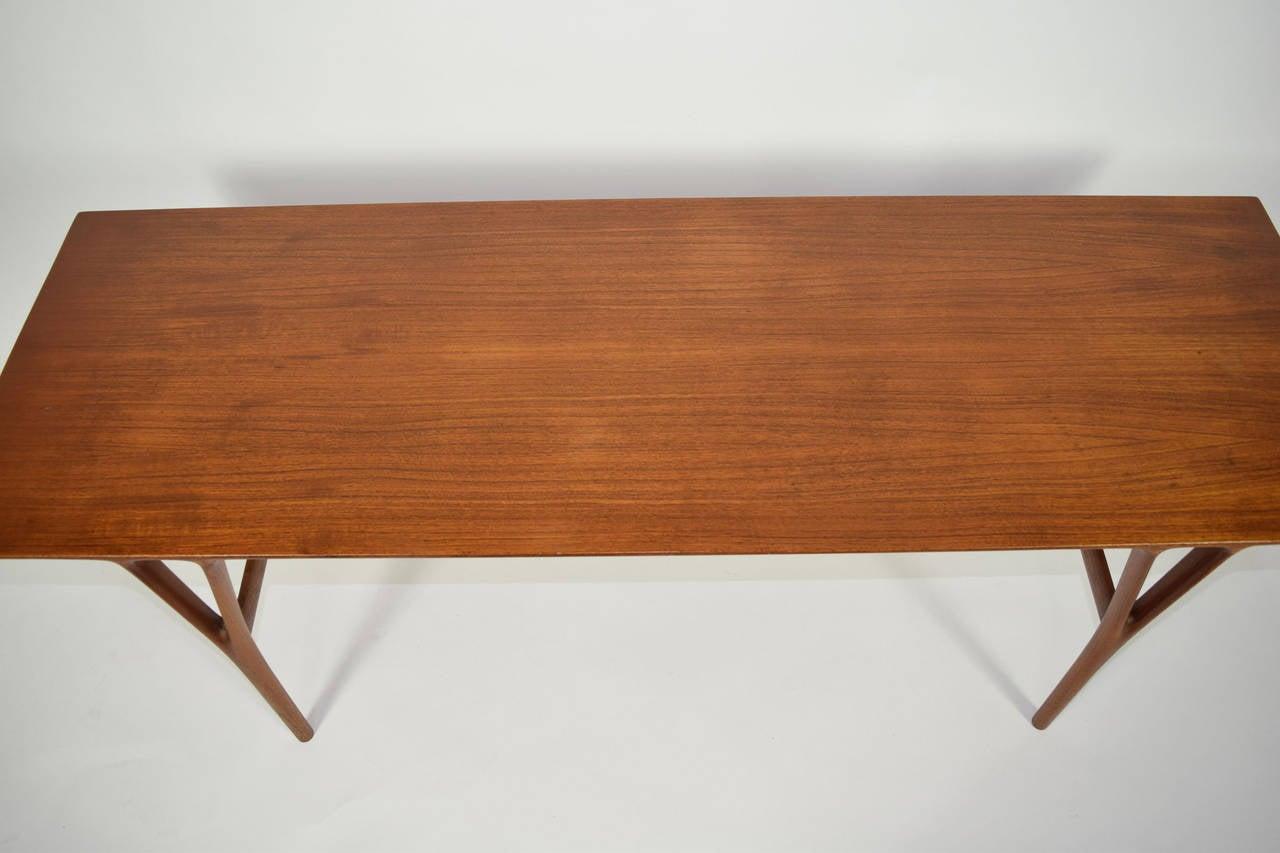 Teak Coffee Table by Helge Vestergaard-Jensen For Sale